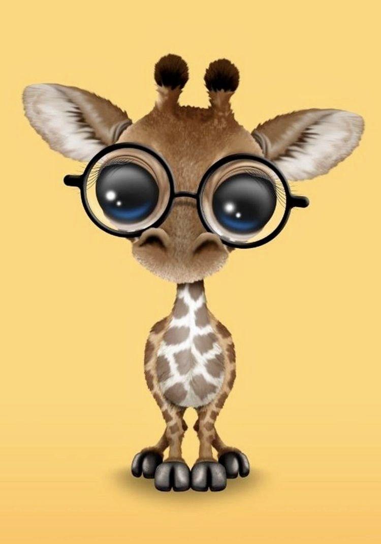 Pin By Caleigha Starchild On My Board Baby Animal Drawings Giraffe Art Cute Animal Drawings