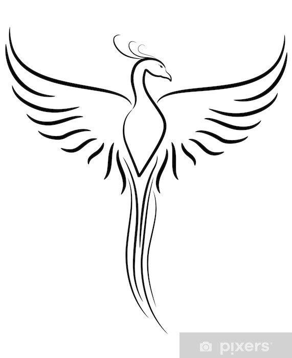 papier peint phoenix tattoo pixers nous vivons pour. Black Bedroom Furniture Sets. Home Design Ideas