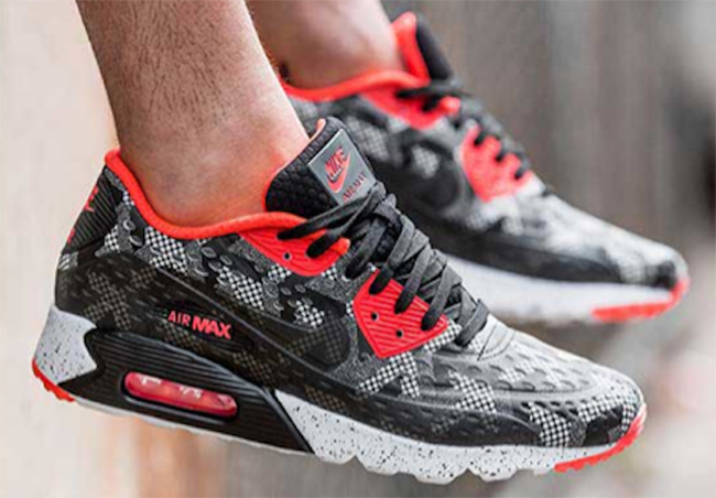 nike air max 90 ultra breathe trainer red png