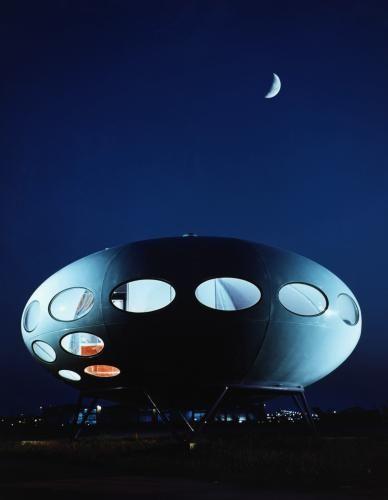 Futuro-Haus des finnischen Architekten Matti Suuronen