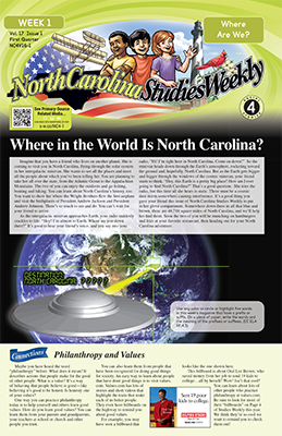 North Carolina Studies Weekly 4th Grade Social Studies Fourth Grade Social Studies