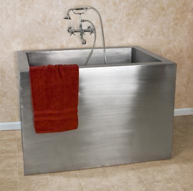 tiny japanese soaking tub. How to Fit a Spa Tub Into Your Tiny Bathroom  Japanese StyleBathtubsJapanese Soaking Photo signature