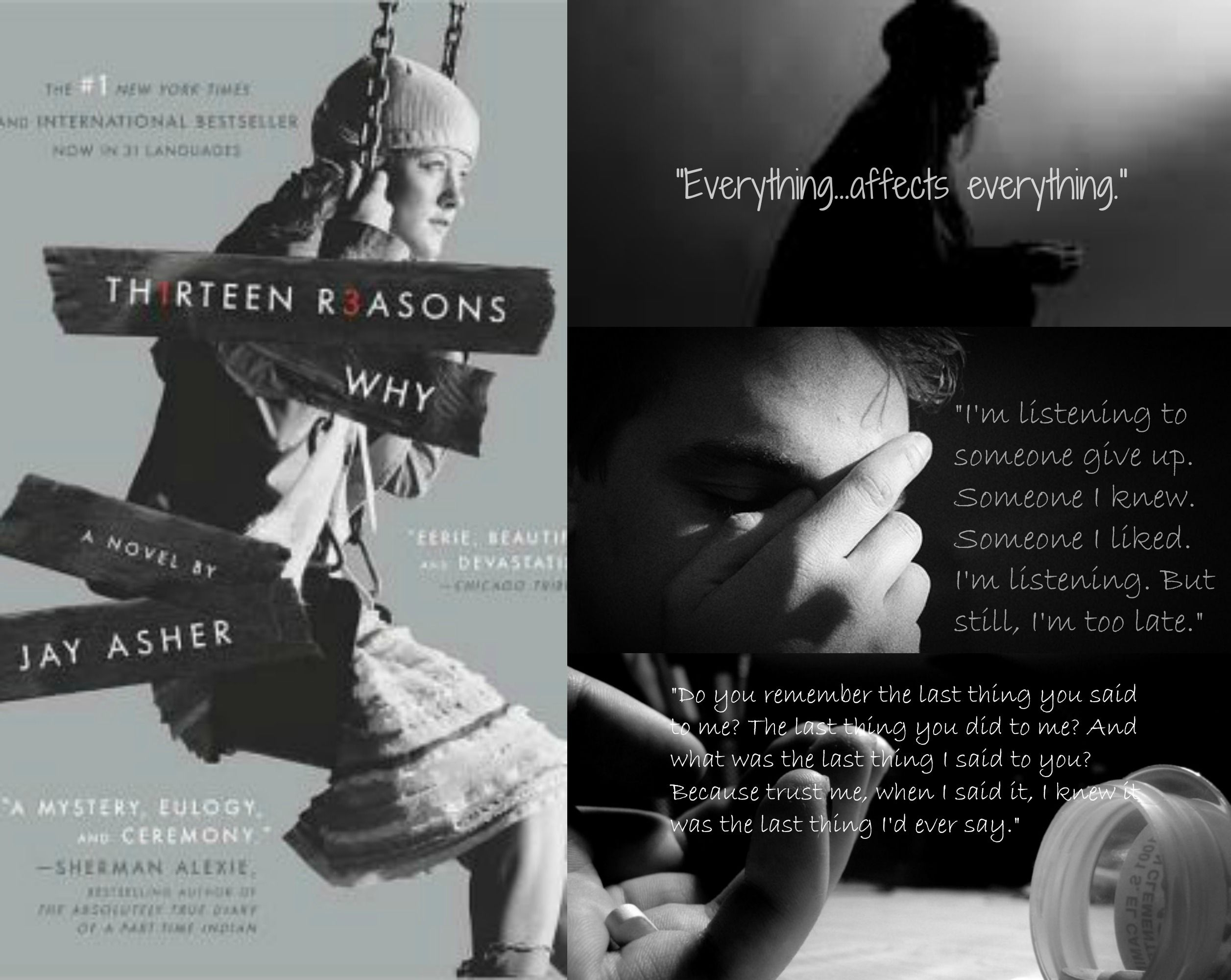 Thirteen Reasons Why By Jay Asher Thirteen Reasons Why Book Of
