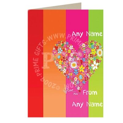 send this personalised card to your love and wish himher valentines day anniversary or just to show your love on birthday shop online now for free love - Send A Valentines Card