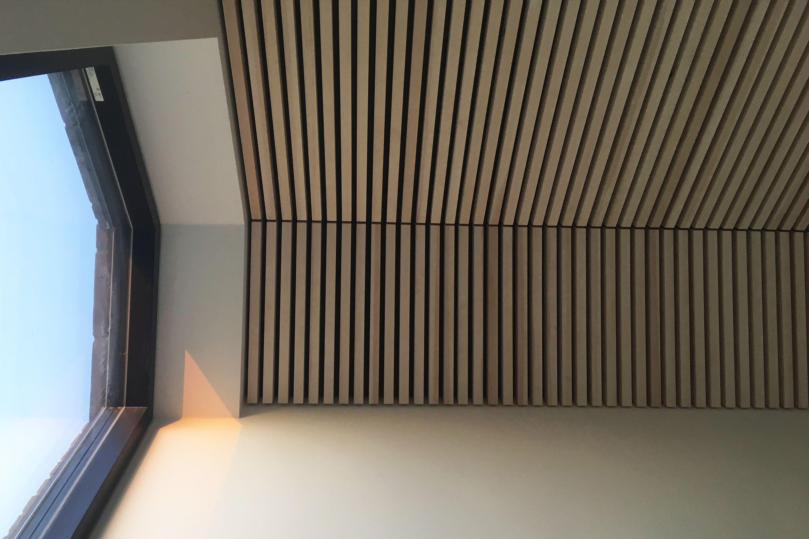 Alvorlig listeloft.nu / akustik lofter i træ lister | listeloft.nu GZ94