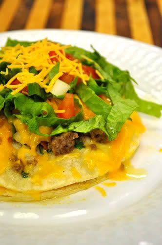 Stacked Green Chile Enchiladas