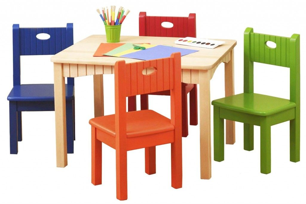 Furniture Children S Table And Chairs Plastics Colorful Design