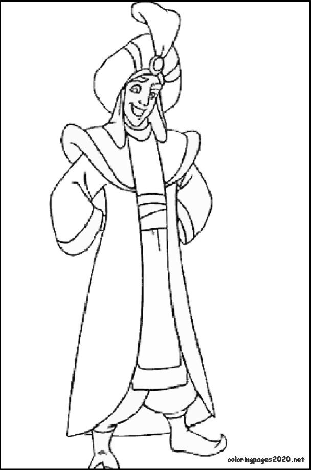 11 Aladdin Coloring Pages Cartoon Printable Di 2020