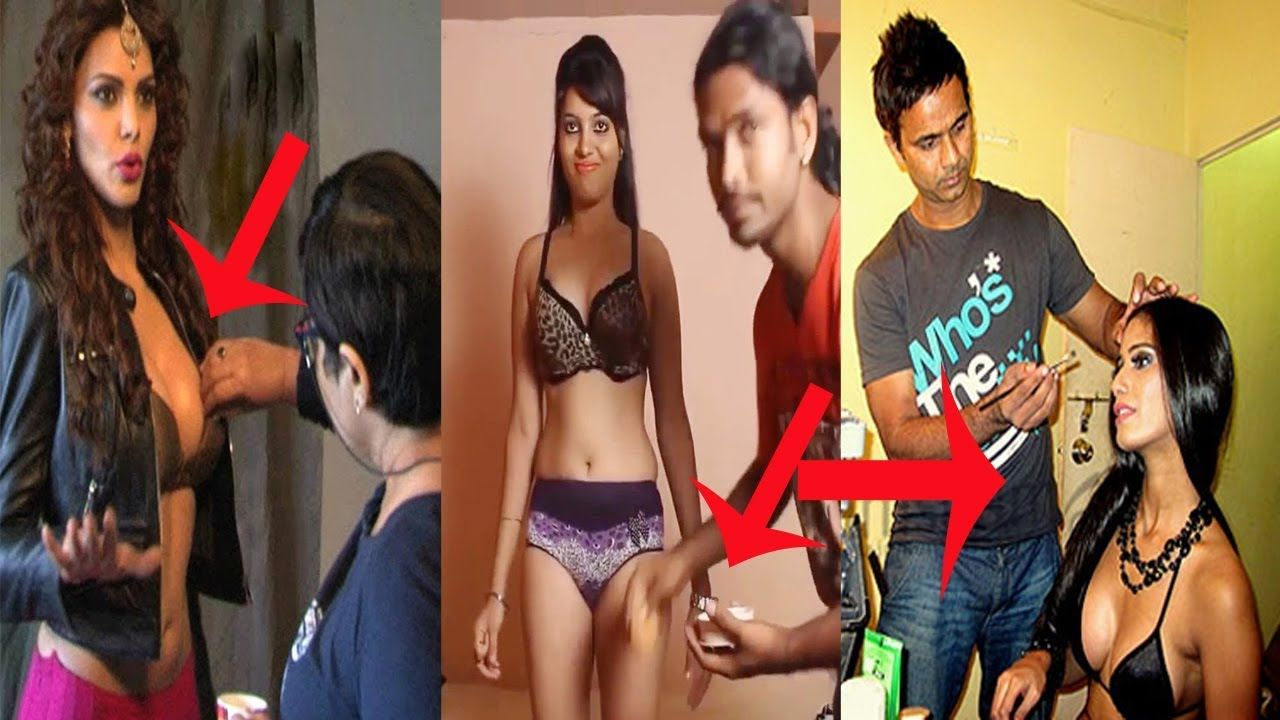 Bollywood Actress Makeup Room Behind the Scenes  Youve Never Seen
