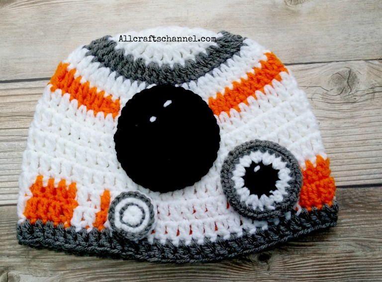 Star Wars Inspired BB-8 Hat   Crochet   Pinterest   Amigurumi häkeln ...