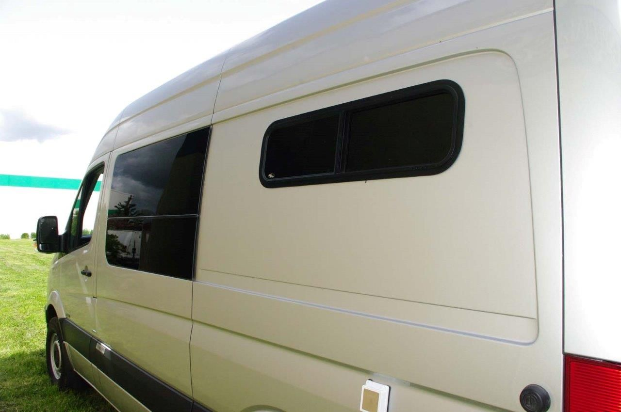 Enhance Your Sprinter Van Conversion With Custom Made Windows By Peninsula Glass