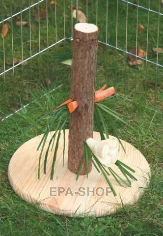 arbre a friandises pour lapin nain lapins pinterest lapins nains friandises et nains. Black Bedroom Furniture Sets. Home Design Ideas