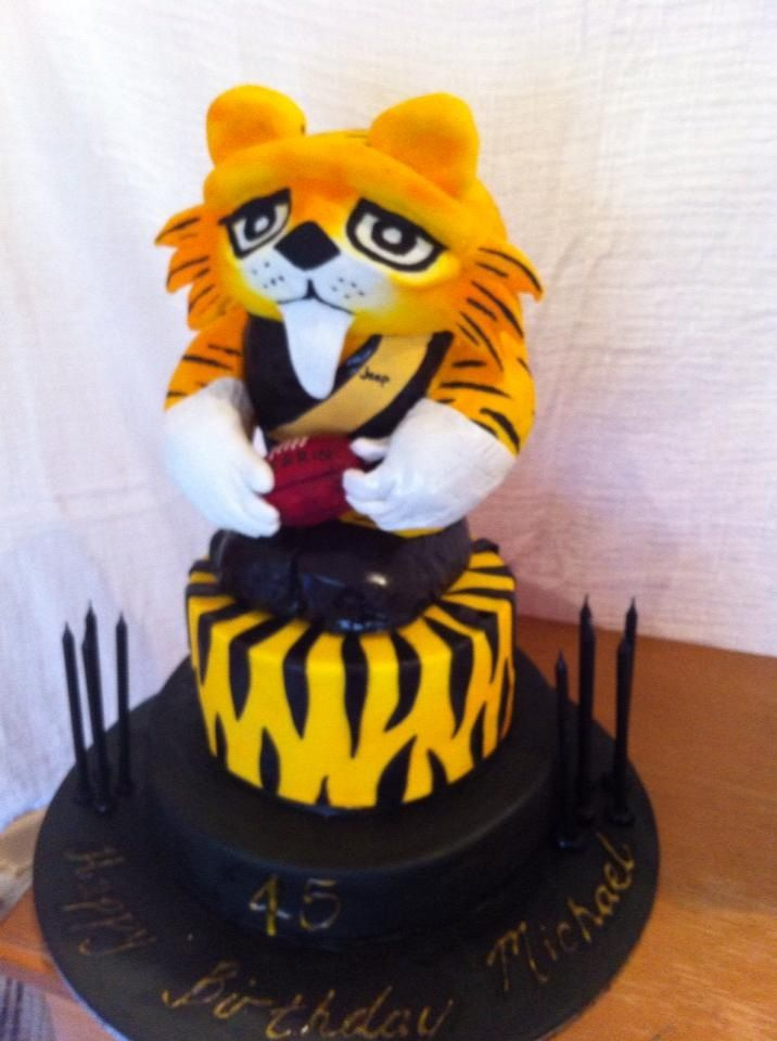 Richmond Afl Football Cake