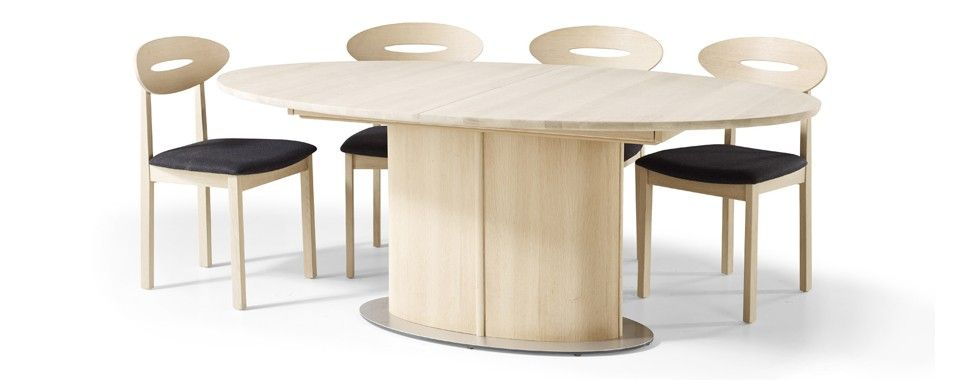 Skovby 73 Dining Table With Patented Extension System From 6 To 10 Seatings