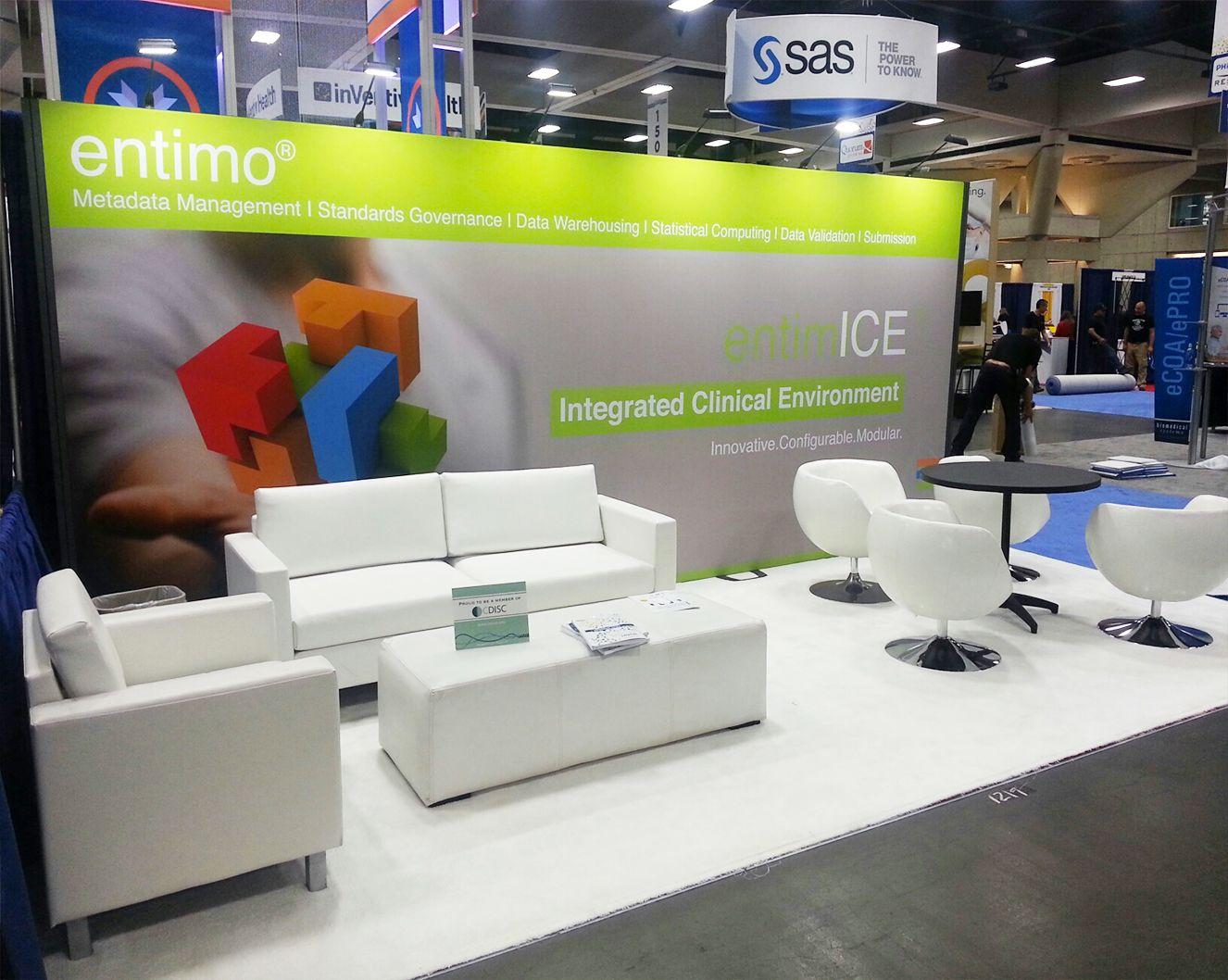 Exhibition Booth For Rental Sia : Modular trade show rental booth for entimo ag dia