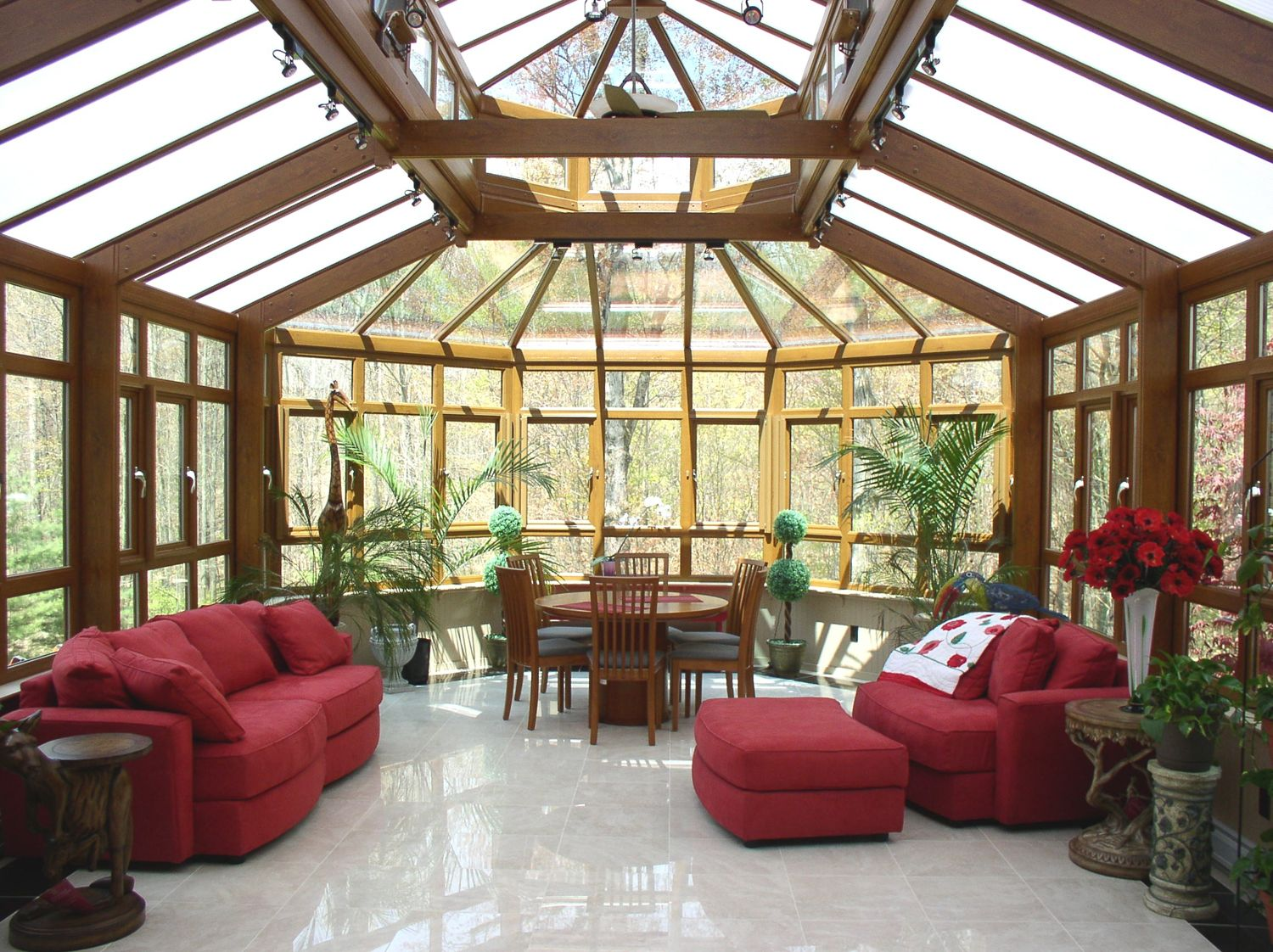 Sunroom. Awesome for cold winter days, and thunder storms! :)