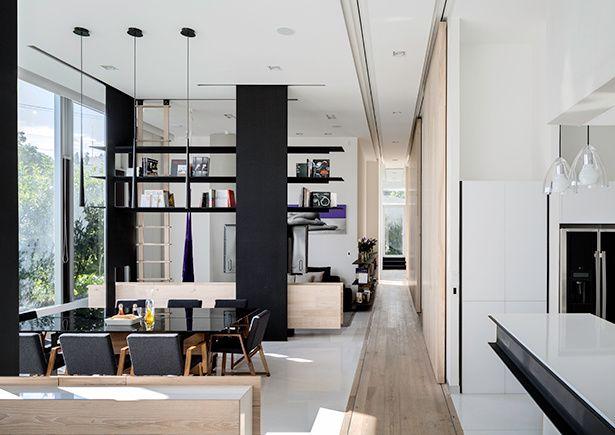 Fotos de interiores modernos decorados casas Pinterest