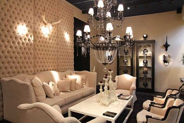 Modern French Style Furniture Buscar Con Google Luxury Interior Padded Wall Panels Stylish Living Room