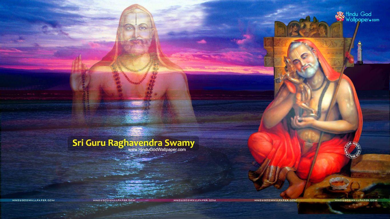 Sri Swami Samartha Full Hd Computer Wallpaper Dawlonod: Guru Raghavendra Swamy Wallpapers