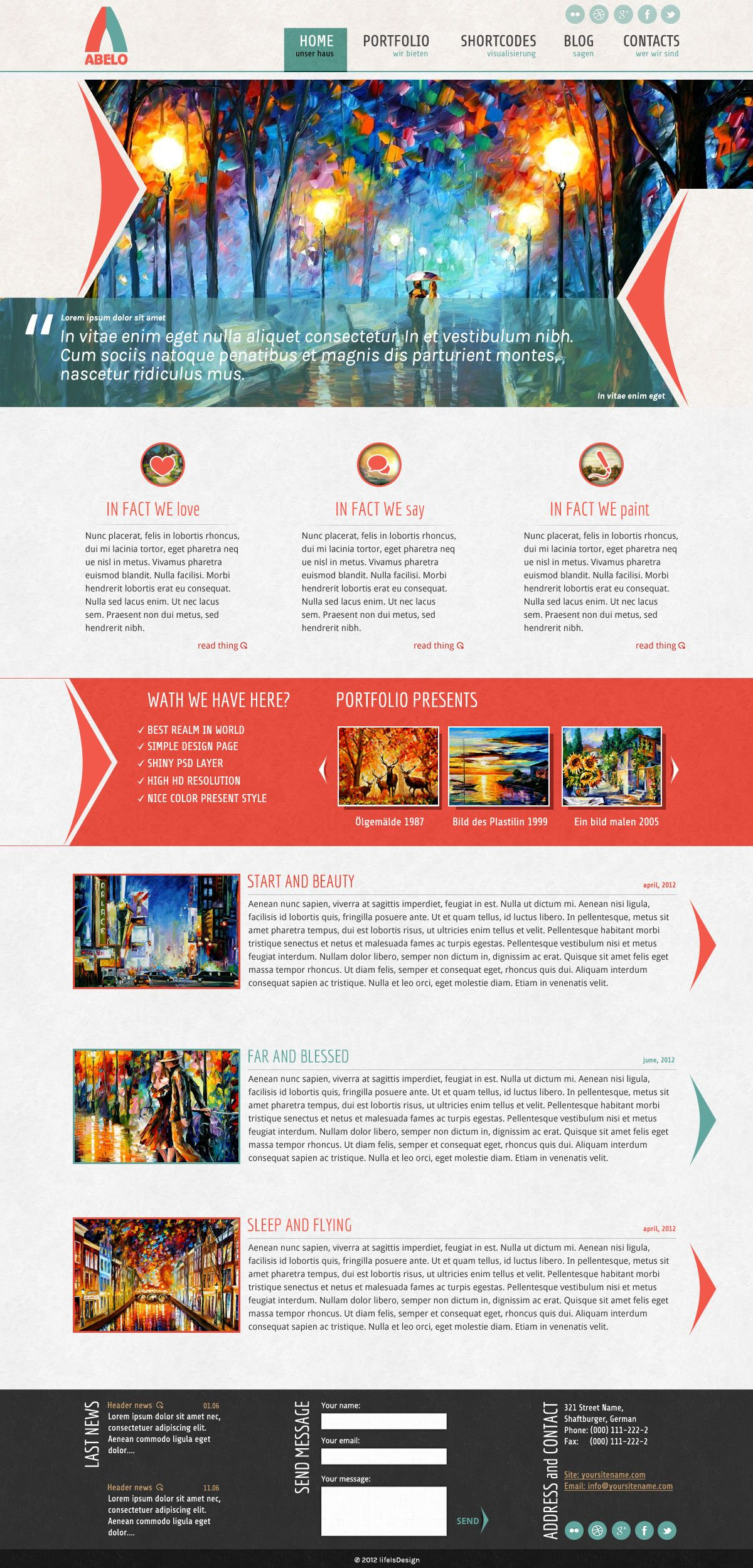 cool & colorful web design | Inspiration | Web | Pinterest ...