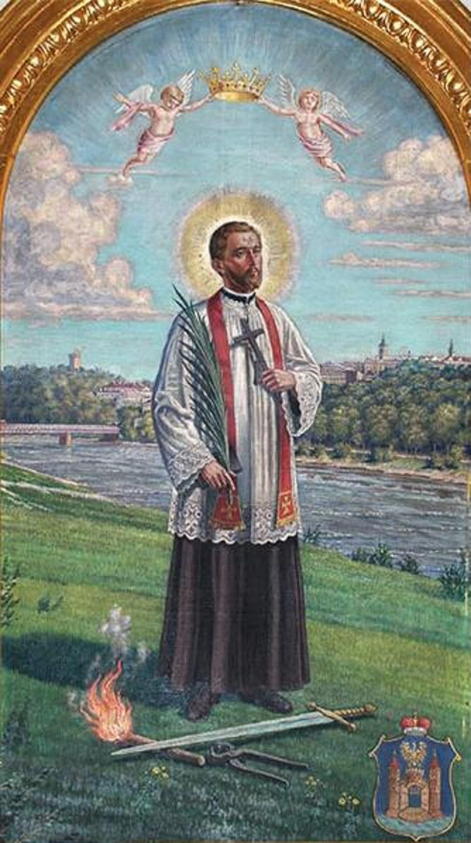 Saint Melchior Grodziecki (c. 1582 - 7 September 1619) was a Polish Jesuit