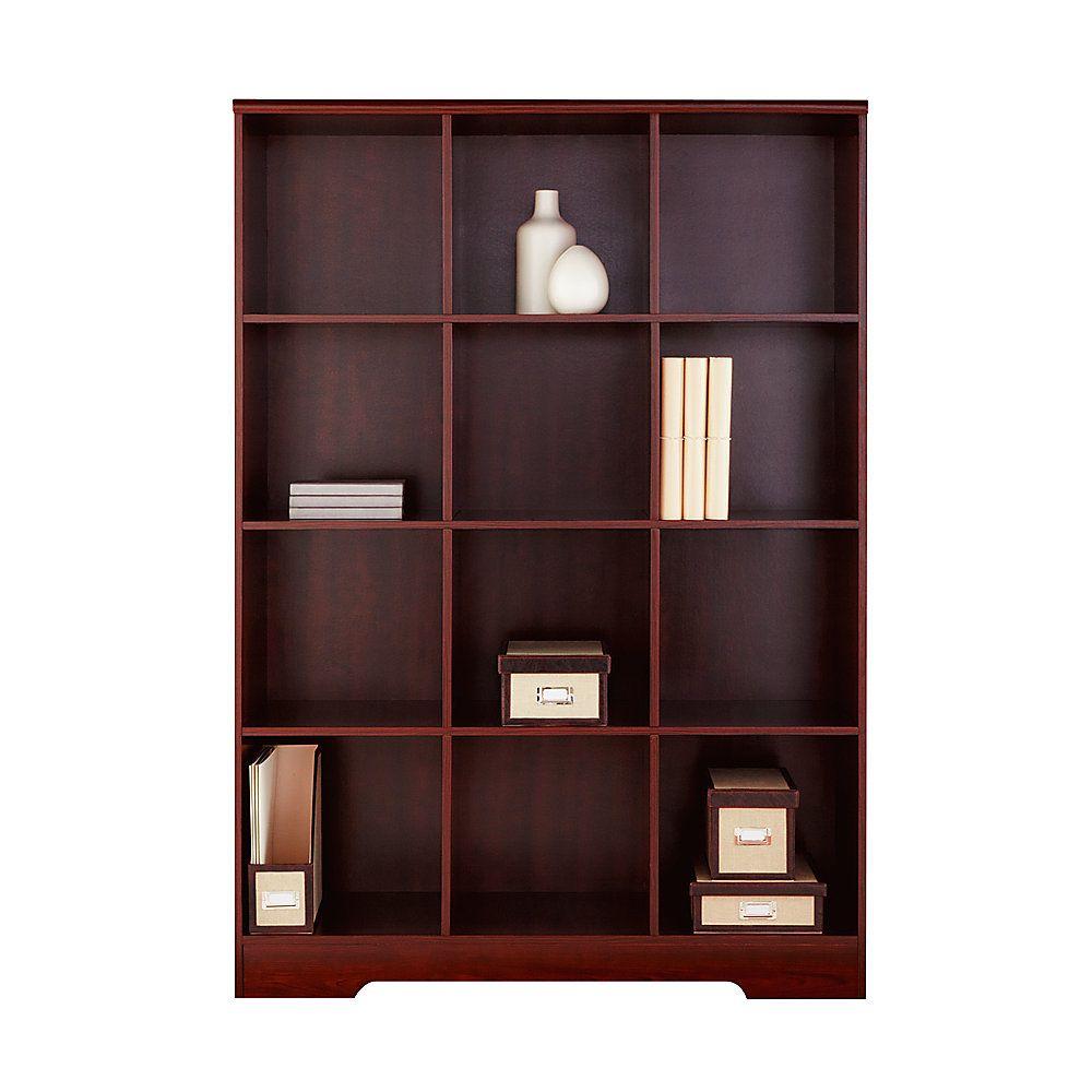 Realspace Magellan 12 Cube Bookcase 63 9 16 H X 46 1 10 W X 15 3