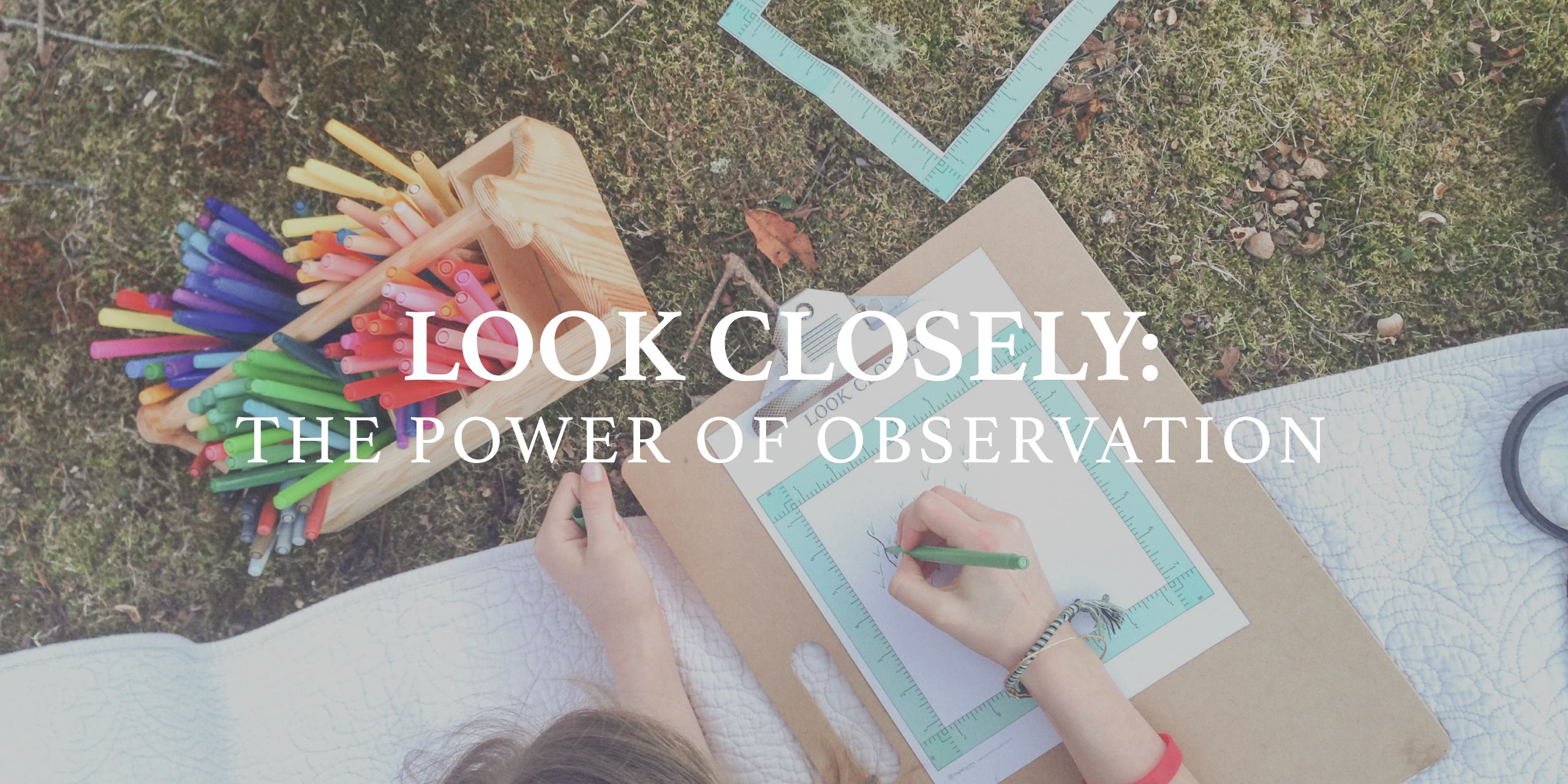 Now that spring is here, it's time to start exploring the great outdoors! Developing the art of observation is an essential skill for our young backyard naturalists… Focusing observations on one small square of space, encourages your children to take more time and look more closely at what they might ordinarily walk right by. By …