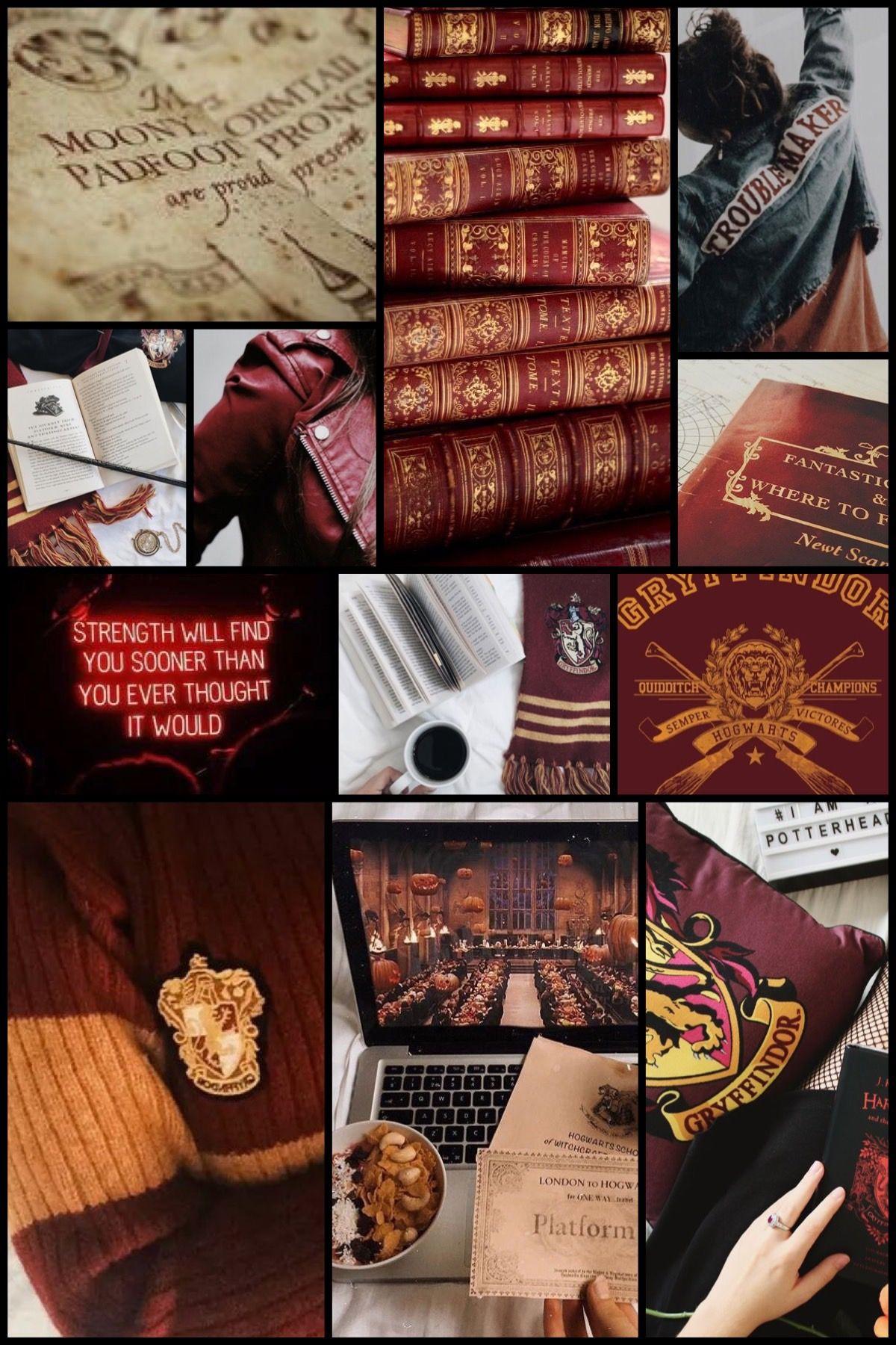 Gryffindor Aesthetic Gryffindor Aesthetic Harry Potter Wallpaper Griffindor
