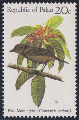 Morningbird(Colluricincla tenebrosa)