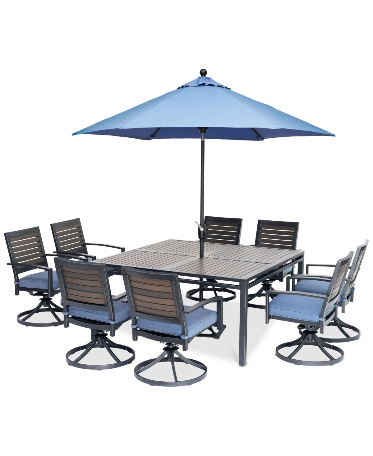 Harlough Ii 9 Pc Outdoor Dining Set