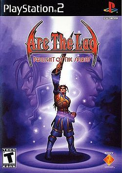 Arc The Lad Twilight Of The Spirits English Cover Jpg Arc The