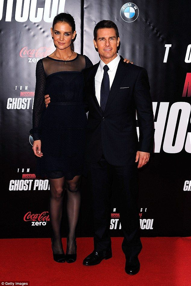 The ex: Holmes was married to Tom Cruise from 2006 until 2012. Together they have a daught...