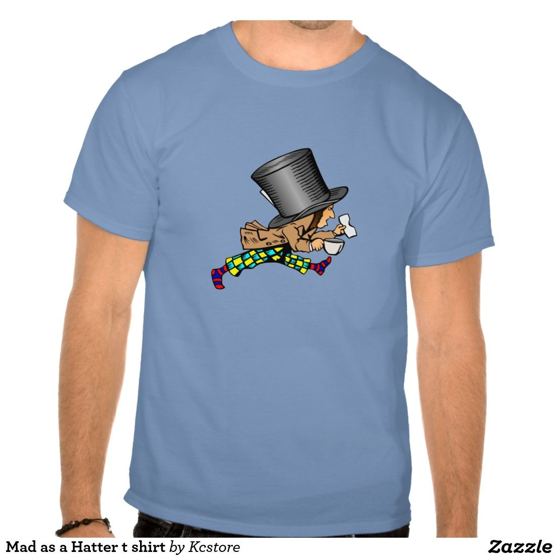 Mad as a Hatter t shirt