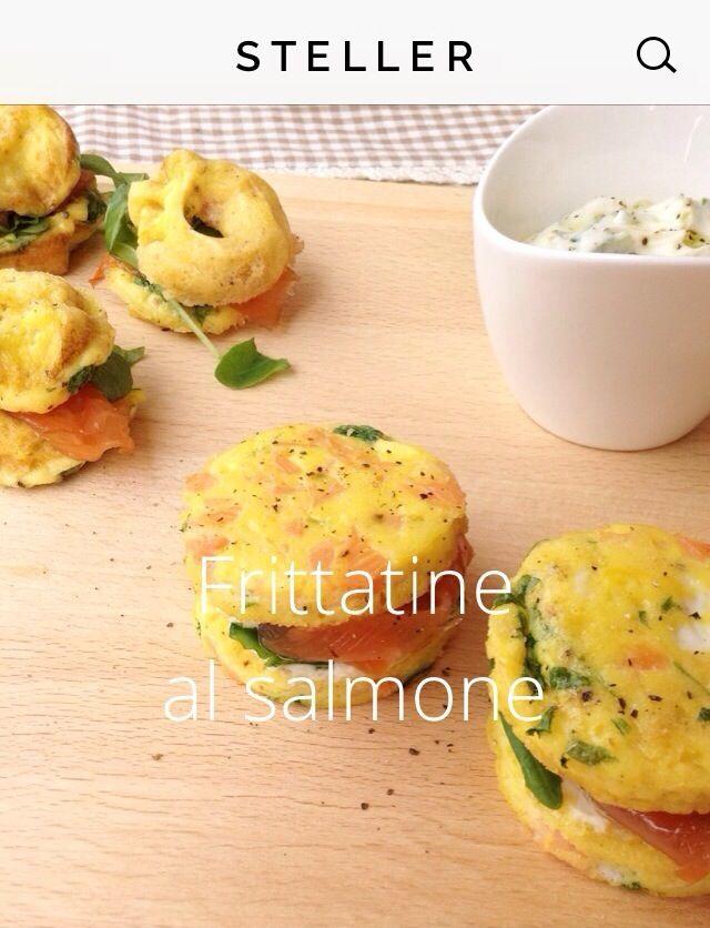 Frittatine al salmone