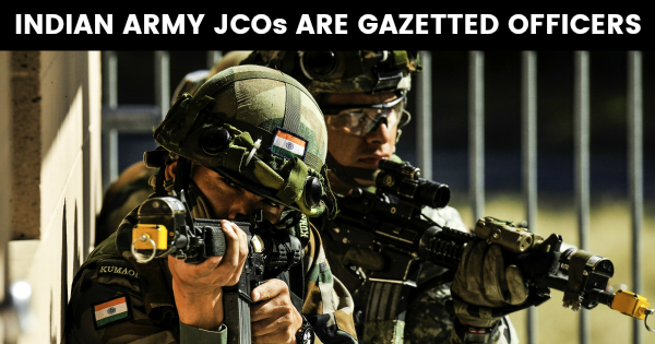 Indian Army Jcos Are Gazetted Officers Indian Army Army Army Day