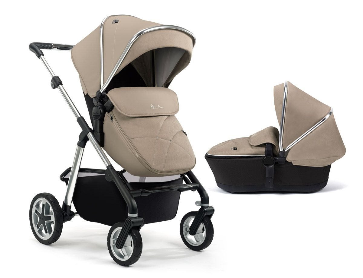 Travel Buggy Suitable From Birth Silver Cross Pioneer Pram In Sand Mothercare £600 Web