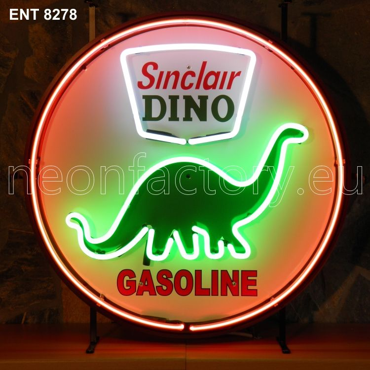 sinclair dino neon from Neonfactory.eu Neon signs