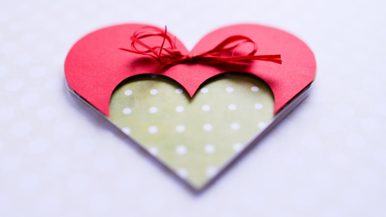 How to make greeting card valentines day heart step by step diy how to make greeting card valentines day heart step by step diy k m4hsunfo