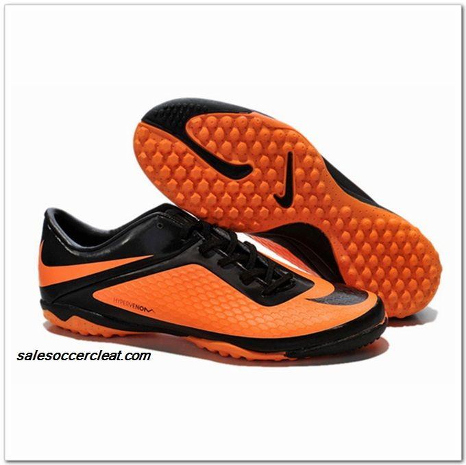 low priced 6d868 03587 Nike Hypervenom Phelon TF Astroturf 2014 Black Citrus $60.00 ...