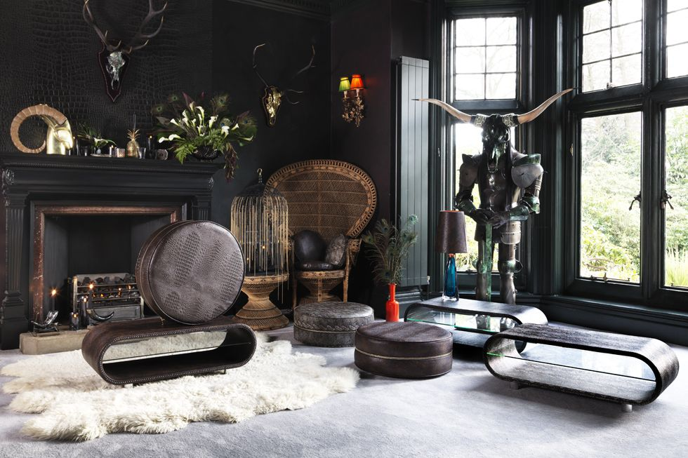 Living room, samuray