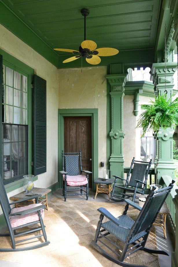 porch on an historic home Green Pinterest An, Southern