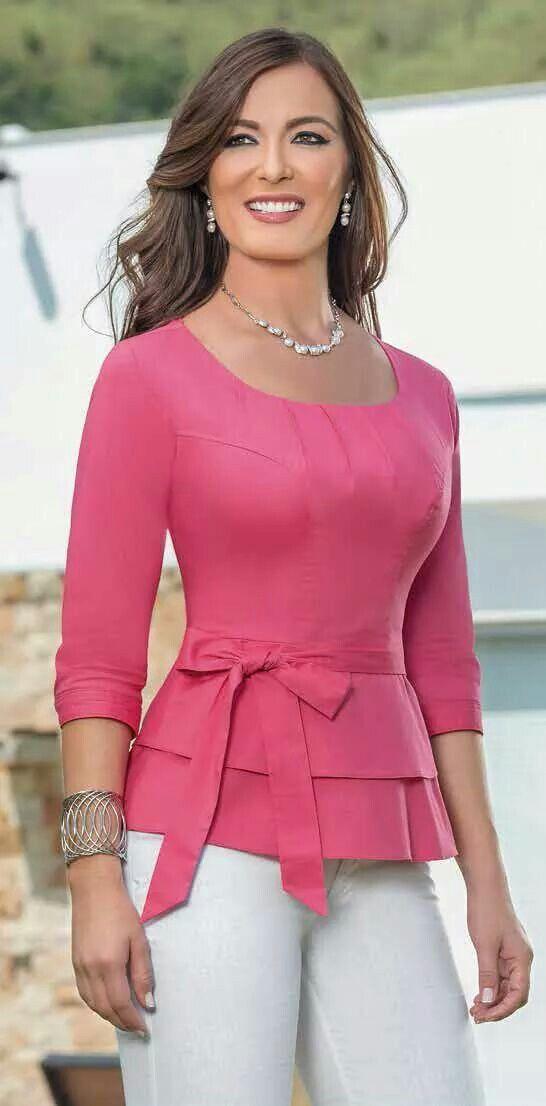 Pin De Angelica Oseguera En Blusas Ropa Blusas Bonitas Ropa De Moda