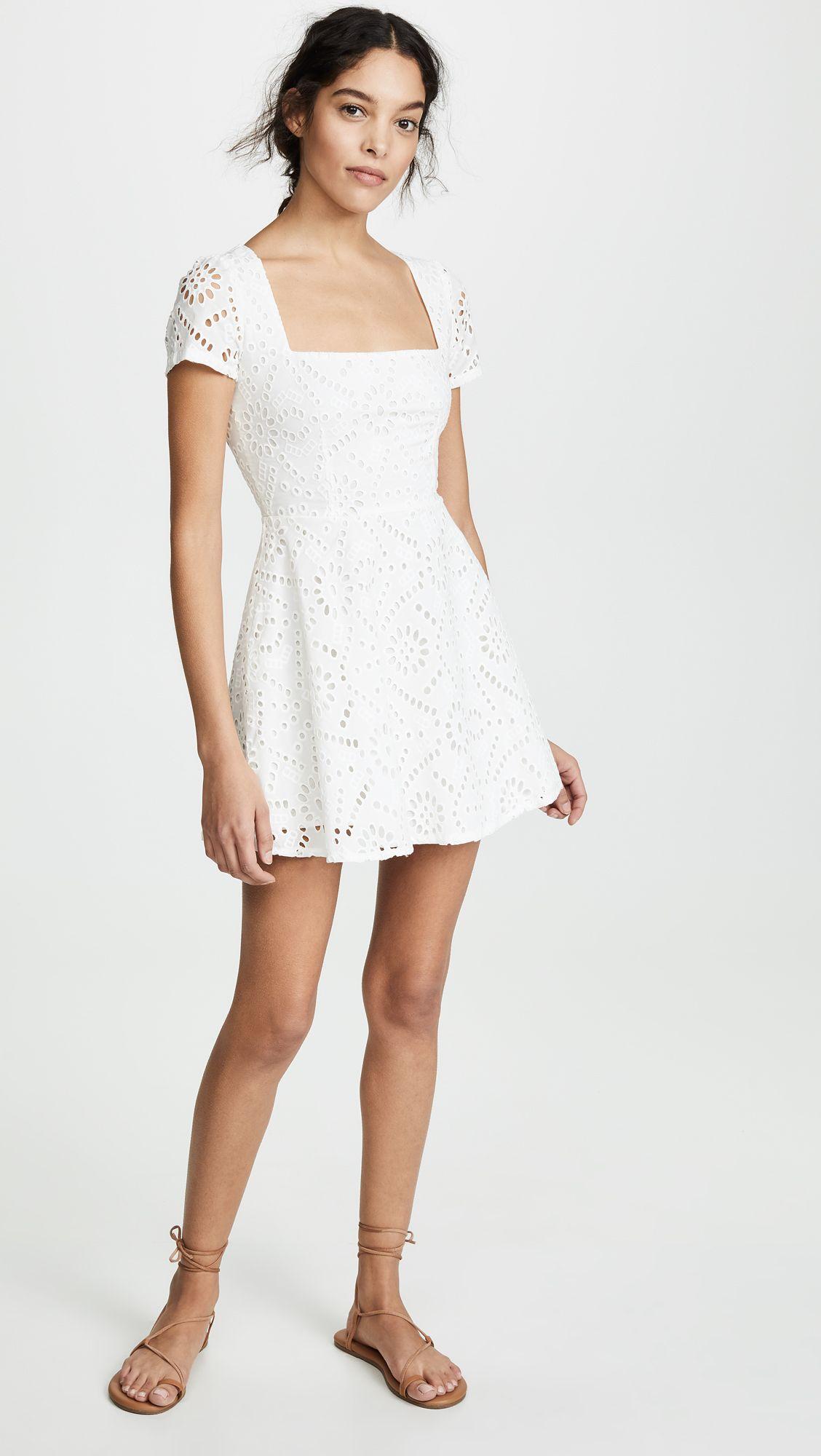 ea3fbc817824 Maiden Mini Dress in 2019 | Class | Dresses, White dress, Mini