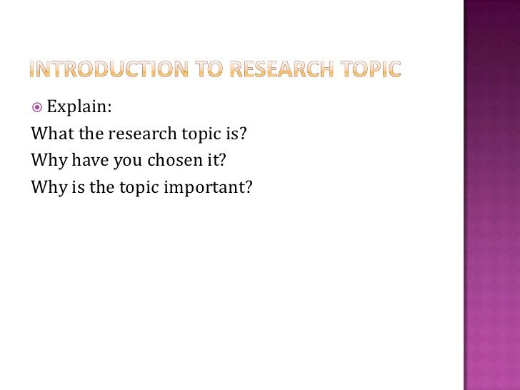 Writing A Research Proposal | Research Proposal | Writing a