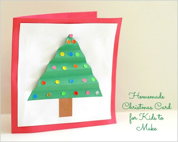 Holiday Cards For Kids To Make
