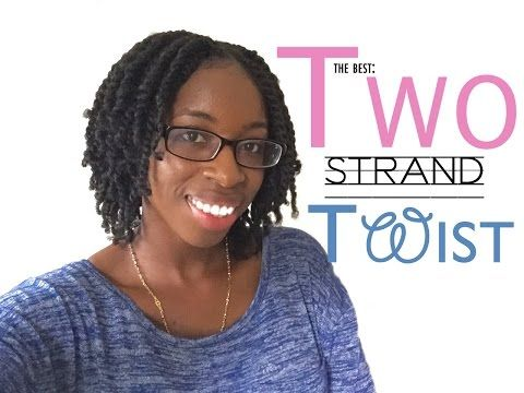 Stupendous The Best Two Strand Twist Naturally Erika Youtube Natural Hairstyles For Women Draintrainus