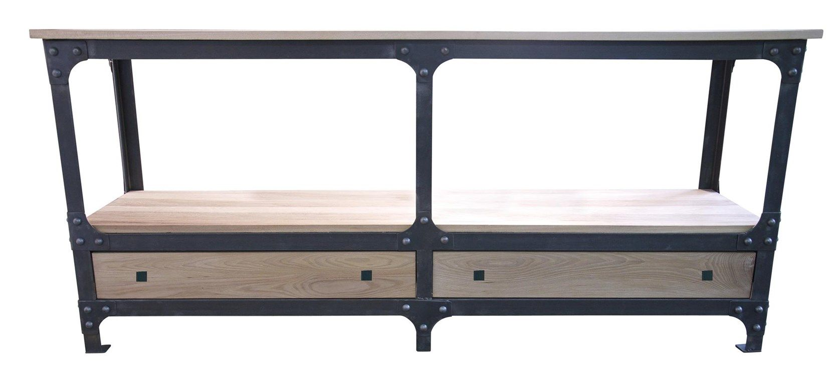 6 foot console table - Gcon502n Metal Wood Hudson Console Table W 72 D 20 H 32 6foot