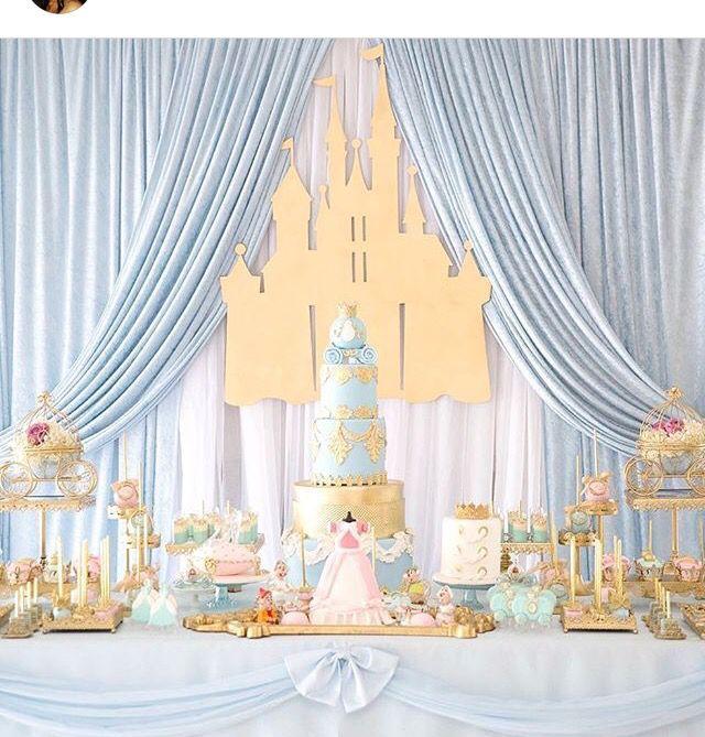 Cinderella Dessert Table Cinderella Party Decorations Cinderella Party Cinderella Birthday Party