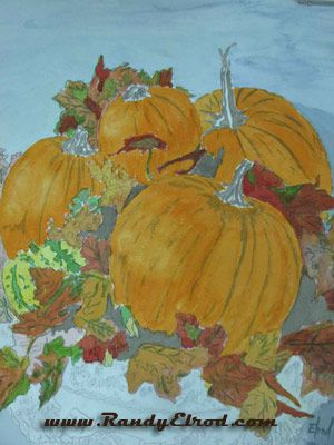 A Thanksgiving Watercolor — Autumn at Seaside | Randy Elrod