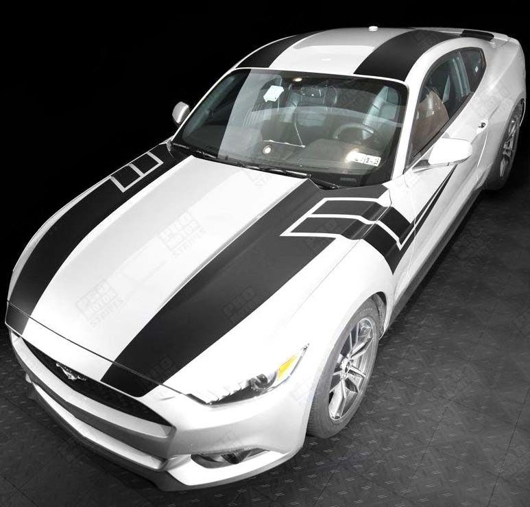 Product: FORD MUSTANG 2015-2017 OVER THE TOP & SIDE SPORT